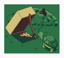 Turtle Trap (Sticker) by manikx