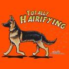 German Shepherd :: Totally Hairifying by offleashart