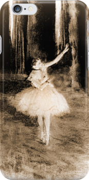 Dance Ballerina Dance iPhone Case by Catherine Hamilton-Veal  ©