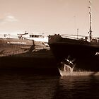 Rusty Russian Ship Bottoms by M-EK