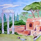 Roman Forum by BobHenry