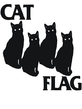 Cat Flag by BUB THE ZOMBIE