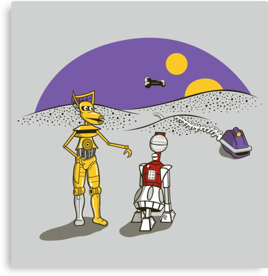 Not the Droids You're Looking For by KentZonestar