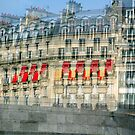 Parisian Mosaic - Piece 29 - French Building Facade  by Igor Shrayer