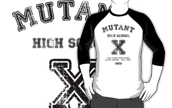 Mutant High School (Light Colours Version) by soulthrow