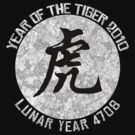Year of The Tiger T-Shirt by HolidayT-Shirts