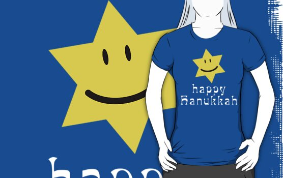 Happy Hanukkah T-Shirt by HolidayT-Shirts
