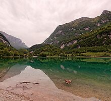Lago di Tenno by Mike Church