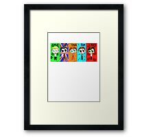 Chibi One Direction  Framed Print