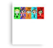 Chibi One Direction  Canvas Print