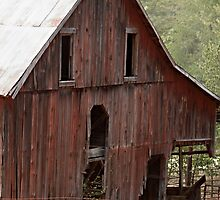 The Sheep Farmer's Barn by Sherry Hallemeier