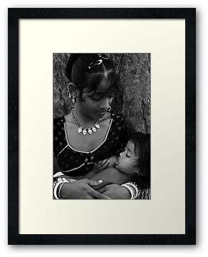 Motherhood-2 by Mukesh Srivastava