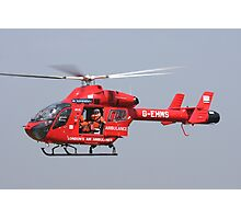 Londons air ambulance Photographic Print