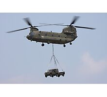 RAF Chinook Photographic Print