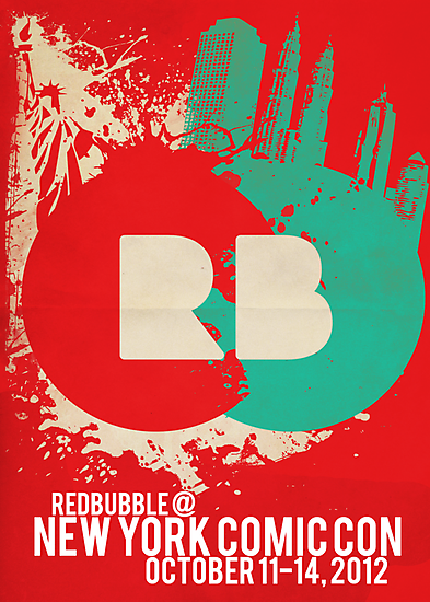 RedBubble NYCC Poster by tjhiphop