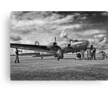 B17 WW2 Bomber Canvas Print