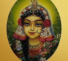 Shrimati Radharani by Vrindavan Das