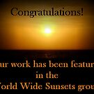 World Wide Sunsets Banner Challenge Entry by Michaela1991
