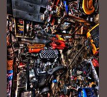 Hotrod Garage by SimpsonBrothers