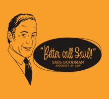 Better call Saul! by Blair Campbell