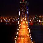 San Francisco - Oakland Bay Bridge by SimpsonBrothers