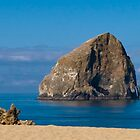 Haystack Rock - Pacific City, Oregon by Brian Harig