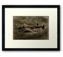 103 Squadron Avro Lancaster  Framed Print