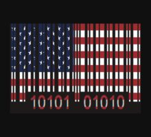 USA Barcode Flag by Netsrotj