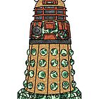 Paisley Dalek by Owen  Cheshire