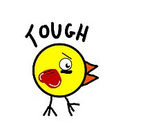 Tough Chick Photographic Print