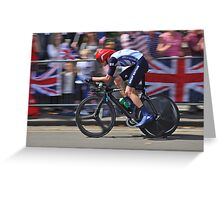 Chris Froome - London 2012, Olympic Time Trial, Bronze Medal Greeting Card