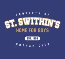 St. Swithin's Home for Boys - 2 color by KRDesign