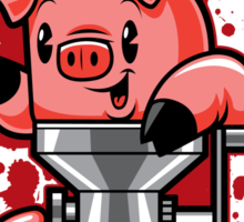 Nice to Meat You! Sticker