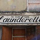 Ye Olde Town Launderette by Celia Strainge