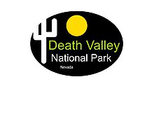 death valley national park Nevada t shirt Photographic Print
