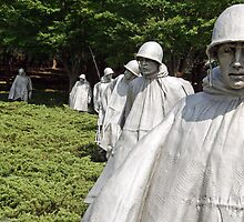 Korean War Veterans Memorial by Cora Wandel