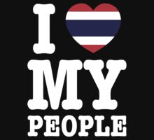 I Heart (Love) My Thai People by iloveisaan