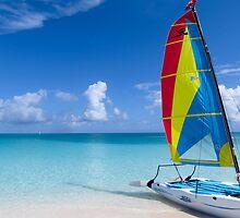 Yacht. by Anne Scantlebury