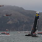 Aerial and Water Racing  by fototaker