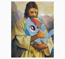 Jesus Loves Rainbow Dash T-Shirt