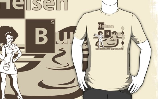 Breaking Bad Heisen Burger by Tardis53