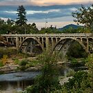 Myrtle Creek Bridge by Jeannie Peters