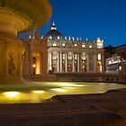 Vatican at blue hour... by Stavros