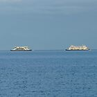 Ferries Shipping Transport Cross Ships Water by justforyou
