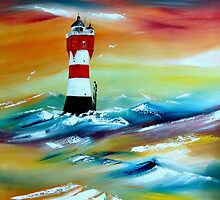 """Lighthouse """"Roter sand"""" by Wemmje"""