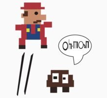 Retro Super Mario by Chillee Wilson by ChilleeWilson