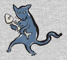 gangsta kitten Kids Clothes