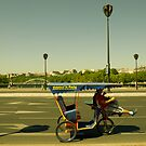 Velo taxi in Paris by Pat Garret