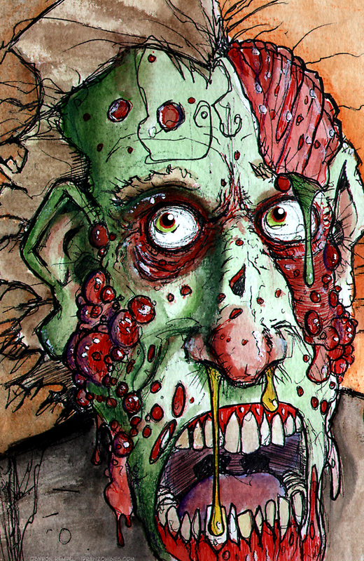 snot boil zombie by byronrempel