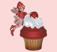 Strawberry, Cupcake Fairy .. Tee Shirt by LoneAngel